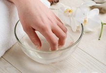 removing gel polish at home